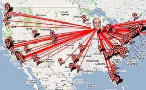 Google Maps и Facebook: карта ваших друзей