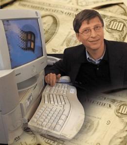 Билл Гейтс больше не первый