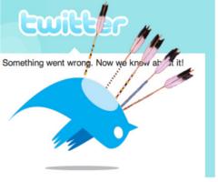 Пользователи Twitter столкнулись со сбоями в работе сайта