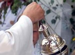Православный священник совершил чин освящения серверов RuTube