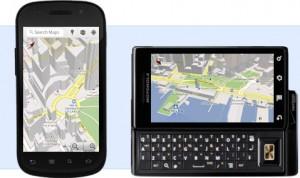 В России запущен сервис мобильной навигации от Google