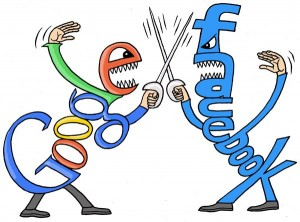 Посещаемость: Google прибавил на 3%, Facebook на 3,8%