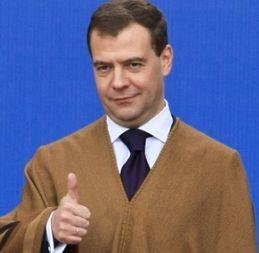 Танец Медведева набрал 2 млн просмотров за сутки (видео)