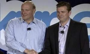 Балмер и Бейтс представляют сделку по Skype: Мы думаем, что «можем дотянуться до каждого на этой планете»