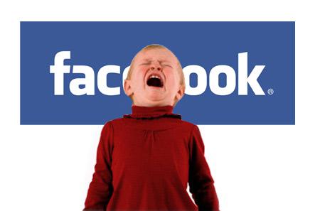 Количество малолетних детей в Facebook составляет 7,5 млн