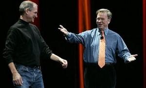 Эрик Шмидт назвал Стива Джобса лучшим руководителем в мире