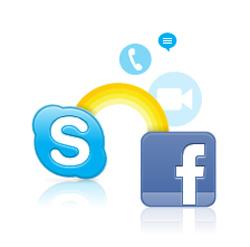 Skype постепенно подстраивается под пользователей Facebook