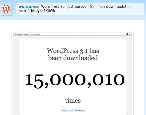 wordpress 15000 000
