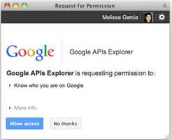 Google+  впервые открывает API