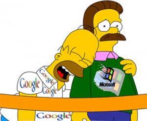 Microsoft пожаловалась на Google в Антимонопольную службу