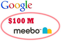 Google купила компанию Meebo за $100 млн.