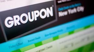 Акции сервиса Groupon упали на 20%