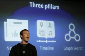 Facebook анонсировал внутреннюю поисковую систему Graph Search